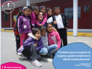 Crea+: creating chances and opportunities in Peru