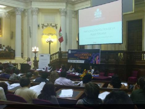 Peru elected over 3,000 women to regional, municipal positions in 2014
