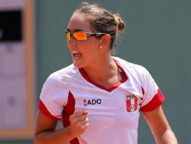 Peruvian tennis player leaped 457 spots in WTA rankings this year