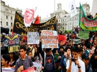 More than ten thousand walk in second march against youth employment law