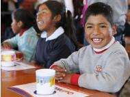 Peru national school nutrition program allocates S/. 1.2 billion for students