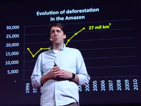 Tasso Azevedo: How to put the slogan 'Save the Rainforest' into action (VIDEO)