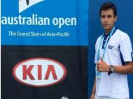 Teen advances to second round of Australian Open juniors division