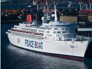 Peace Boat takes children's proposals at Callao port