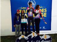 Peruvian mountain bikers shredding in Chile TransAndes Challenge