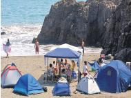 Travel: Summer campsites, travel down the coast to find the perfect beach