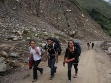 Machu Picchu visitors troubled by collapsed bridge