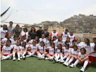 US Embassy of Lima kicks off female soccer program