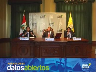 Miraflores Municipality launches transparency web page