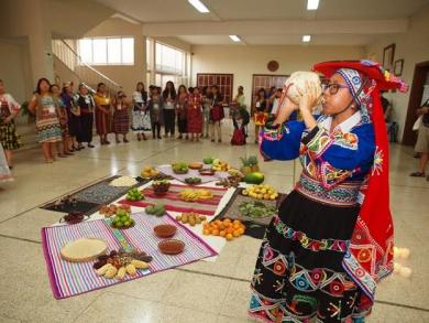 Indigenous women convene in Lima in fight against systems of violence