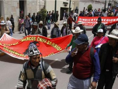 Cusco: Agriculture strike blocks roads and access to Sacred Valley