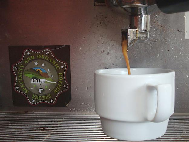Wake up and smell the Inti Coffee