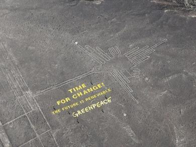 Nazca Lines: Gov't appoints ad hoc public prosecutor for Argentine activtist