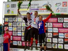 Peruvian cyclist wins silver medal in 2015 Pan Am Continental MTB Championships