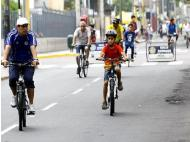 Miraflores: Bike paths used by 606 pedestrians on a daily basis