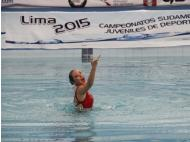 Peru wins historical medal in synchronized swimming