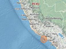Earthquake of magnitude 4.3 on the Richter scale shakes Arequipa