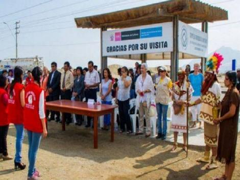 Chan Chan swears in 300 youth as defenders of the sacred site
