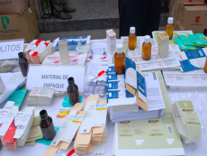Police seize 10 t of fake medicines, bust lab