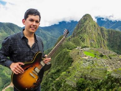 Jazz and Andean fusion music video filmed in Machu Picchu