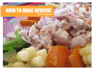 Ceviche: Step-by-step