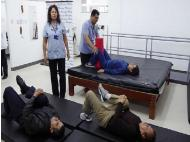 Hospital Angamos presents new therapy and rehab space