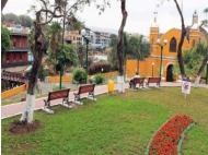 Parque Villarreal of Barranco remodeled by Municipality