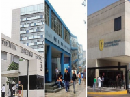 Peruvian universities' standing in the Latin American rankings