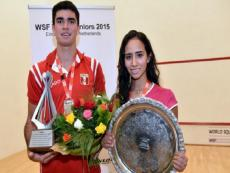 Peruvian squash athlete Diego Elias, double WSF World Jr. Champion