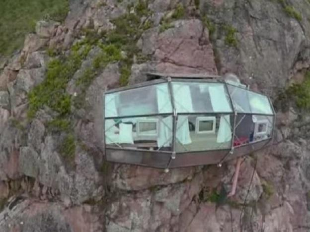 The coolest or the most terrifying hotel in the world, in Peru