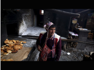 Pisac and its traditional baked bread using clay ovens