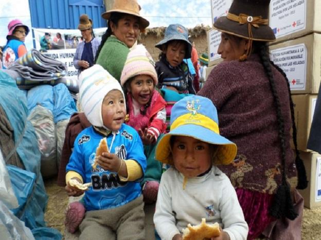 EU provides aid to families in cold regions of Peru