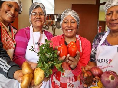 Lima: Mothers and chefs compete for space in Mistura
