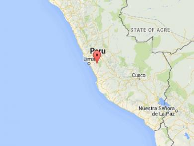 Earthquake of magnitude 5.5 hits Lima