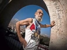 Hugo Delgado prepares for World Masters Athletics 2017