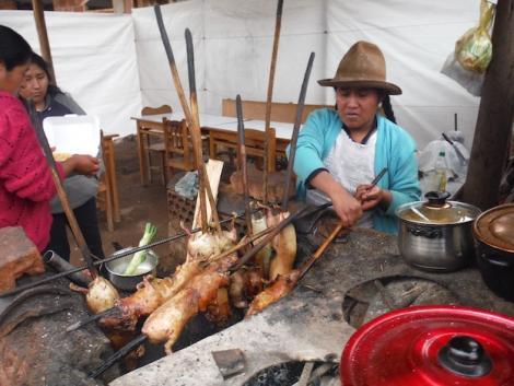 Try Lamay for the best cuy of the Sacred Valley