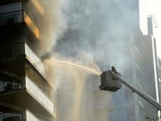 San Isidro: Fire at Av. General Pezet building contained