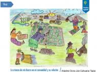 FAO awards Peruvian child for 'family farming' drawing contest