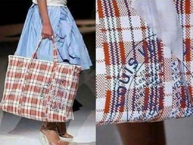 Louis Vuitton launched bag with resemblance to Peruvian design