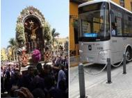 Lord of Miracles: Municipality announces public transport detours