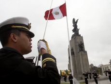 The Peruvian Navy takes charge