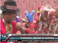 Peruvian shamans curse Chilean soccer player, get international attention