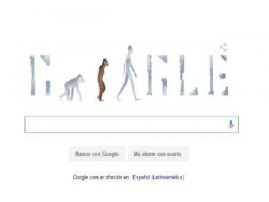 Google's doodle celebrates discovery of Lucy
