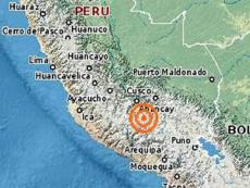 Earthquake of magnitude 4.1 hits Apurímac region