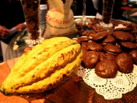 Peruvian chocolate travels to Paris Salon Du Chocolat exhibit