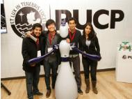 Inventions fair in Lima features robot and one-wheel vehicle