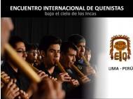 VII Int'l Meeting of Quena Players kicks off in Lima