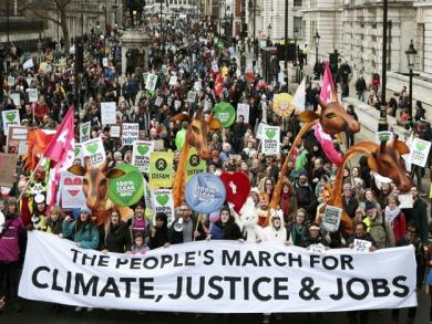 Climate change march around the world (PHOTOS)