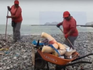 Peru's Carpayo beach dirtiest in Latin America (VIDEO)