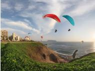 Five places where you can paraglide in Lima